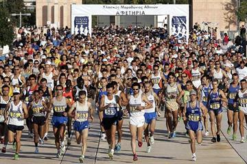 Start of Athens Classic Marathon (AFP / Getty Images)
