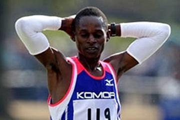 Harun Njoroge wins in Chiba 2008 (Yohei Kamiyama/Agence SHOT)