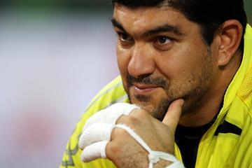 Hammer thrower Dilshod Nazarov of Tajikistan (Getty Images)