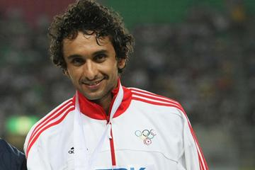 Race walker Hatem Ghoula of Tunisia (Getty Images)