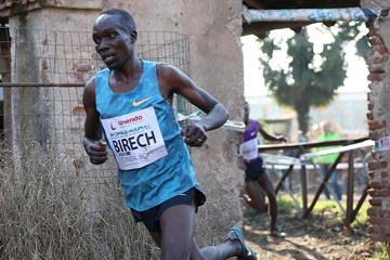 Jairus Birech at the 2016 Cinque Mulini cross country meeting (Giancarlo Colombo / organisers)