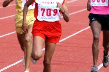 Preeja Sreedharan, triple victor at national games (S.S. Ram)