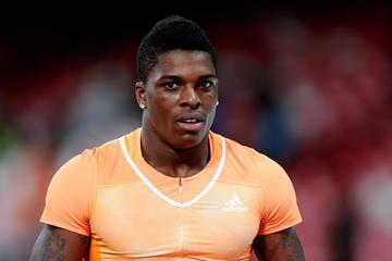 Marvin Bracy at the 2015 IAAF World Challenge meeting in Beijing (Getty Images)