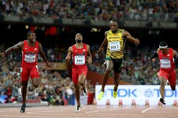 Usain Bolt wins the 100m at the IAAF World Championships, Beijing 2015 (Getty Images)