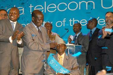 World 5000m bronze medallist Moses Kipsiro is crowned Uganda's top sport personality of 2007 (Katende Norman Ssemakula)