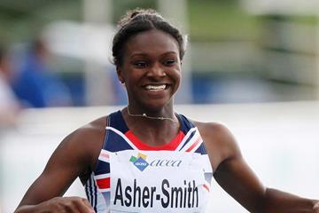 British sprinter Dina Asher-Smith (Getty Images)