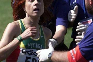 Fernando Ribeiro at the World Cross Country Championships in 2000 (Paulo Costa)