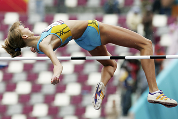 Olga Rypakova in the heptathlon high jump (Getty Images)