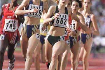 The women's 800m final (© Allsport)