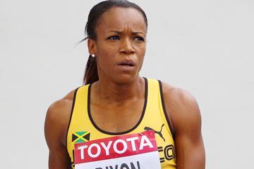 Jamaican sprint hurdler Vonette Dixon (Getty Images)
