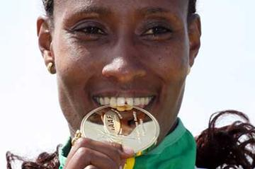 Gelete Burka of Ethiopia tastes short  race gold (Getty Images)