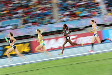 Women's 4x1500m relay at the 2014 IAAF World Relays (Getty Images)