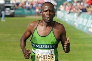 Ultra-distance runner Collen Makaza of Zimbabwe (Getty Images)