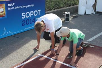 an activity at the IAAF World Indoor Championships Sopot 2014 Athletics Village (Organisers)