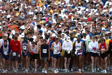 General View of a Marathon start (Getty Images)