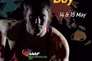 2011 IAAF World Athletics Day - Poster (IAAF.org)