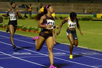 Shelly-Ann Fraser-Pryce wins in Kingston (Anthony Foster)