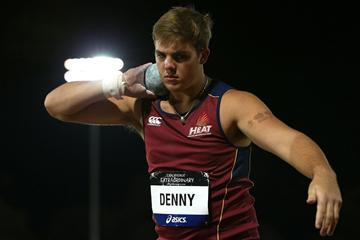 Matt Denny at the 2013 Australian Junior Championships (Getty Images)