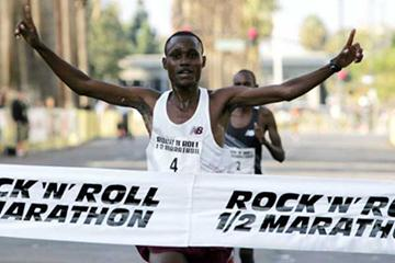 McDonald Ondara wins 2007 Rock 'n' Roll Half Marathon (c)