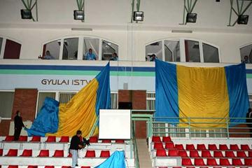 István Gyulai Athletics Stadium inauguration - name is unveiled (Getty Images)