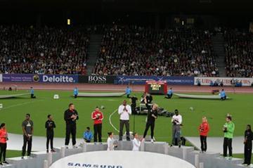Diamond Race title winners - Zurich 2011 (Jean-Pierre Durand)