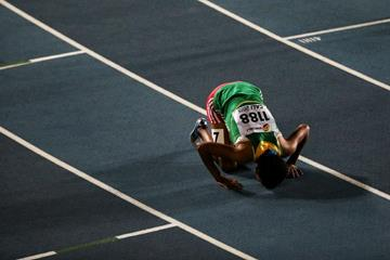 Bedatu Hirpa at the IAAF World Youth Championships, Cali 2015 (Getty Images)