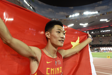 Chinese long jumper Wang Jianan (AFP / Getty Images)