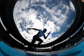 Athletes in action at the Rio 2016 Olympic stadium (AFP / Getty Images)