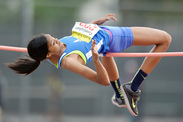 US high jumper Vashti Cunningham (Kirby Lee)
