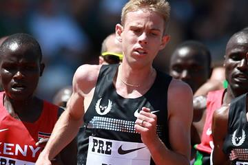 Galen Rupp in action at the IAAF Diamond League meeting in Eugene (Getty Images)