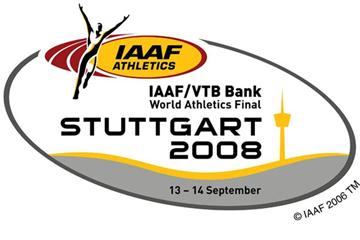 IAAF / VTB Bank World Athletics Final 2008 logo (IAAF.org)