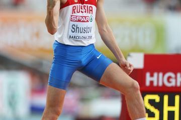 European High Jump champion Alexander Shustov (Getty Images)