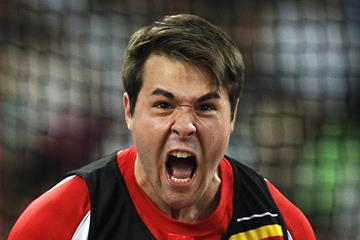 Philip Milanov at the IAAF World Championships Beijing 2015 (Getty Images)