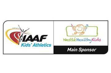Kids Athletics - Nestle logo (IAAF)
