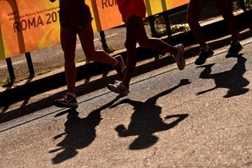 Athletes in action at the IAAF World Race Walking Team Championships Rome 2016 (Getty Images)