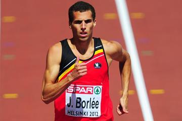 Belgian 400m sprinter Jonathan Borlee (Getty images)