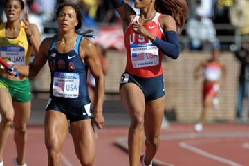 Another 4x400m Relay victory for Sanya Richards-Ross at Penn (Kirby Lee)
