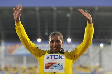 Beyenu Degefa of Ethiopia, the 3000m champion at the IAAF World U20 Championships Bydgoszcz 2016 (Getty Images)