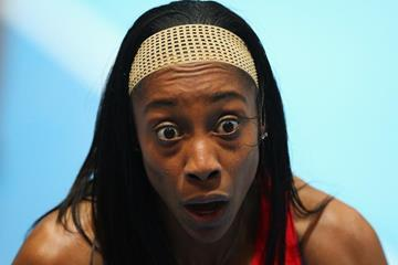 Chanelle Price, winner of the 800m at the 2014 IAAF World Indoor Championships in Sopot (Getty Images)