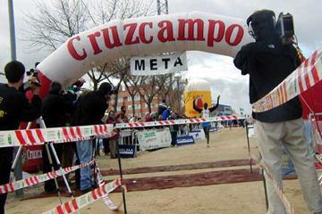 Enock Mitei (KEN) wins in Alcobendas, Spain. (Julián Obispo)