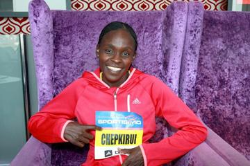 Joyce Chepkirui ahead of the 2014 Prague Half Marathon (VIctah Sailer for Sportisimo Prague Half Marathon)