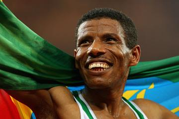 Haile Gebrselassie at the 2008 Olympic Games in Beijing (Getty Images)