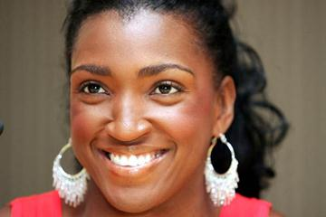 Tonique Williams-Darling at the World Athletics Final press conference (Getty Images)