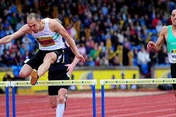 Dai Greene secures his Olympic berth in Birmingham (Getty Images)