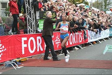 Tantalizingly close! Mestawat Tufa misses 15 km World record by just two seconds in Nijmegen (Zevenheuvelenloop organisers)