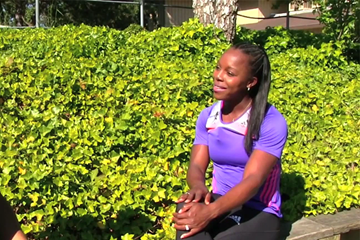 Veronica Campbell-Brown on IAAF Inside Athletics (IAAF)