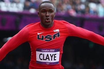 Will Claye of the United States competes in the Men's Triple Jump Qualification on Day 11 of the London 2012 Olympic Games at Olympic Stadium on August 7, 2012 (Getty Images)