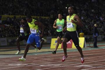 Tyson Gay wins in 9.78 at the Aviva London Grand Prix - Samsung Diamond League (Getty Images)