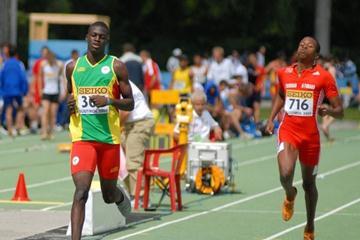 Kirani James of Grenada in action (Paul Reid)