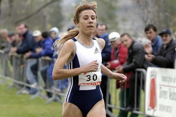 Fernanda Ribeiro wins in Torres Vedras 2004 (Marcelino Almeida)